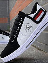 Sapatos Skateboard Masculino Amarelo / Vermelho / Branco Courino