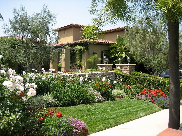Mediterranean Garden Design Is Definitely An Appealing Design Trend.  Mediterranean Garden Design Is Ideal Choice When You Really Need Summery  Atmosphere.