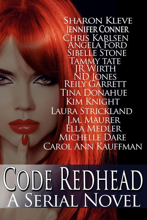 I'm proud to be part of Code Redhead, a serial novel with 16 romance authors. All proceeds will be donated to The Children's Cancer Research Fund. February 9 Available for Preorder &#82…