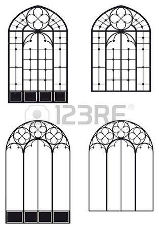 finestra ad arco: Windows e porta-, due diversi