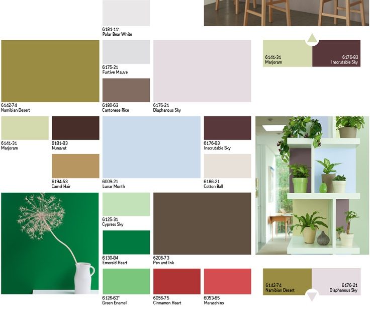Paint colors colors and color trends on pinterest - Palette de couleurs peinture ...