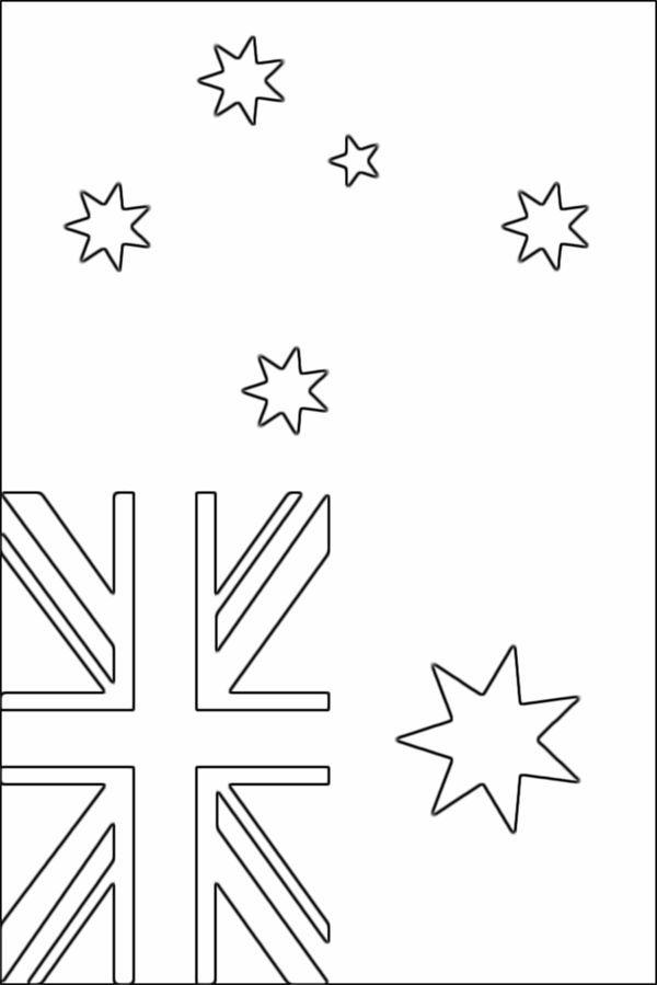Australian flag coloring page – Free Printable Col…