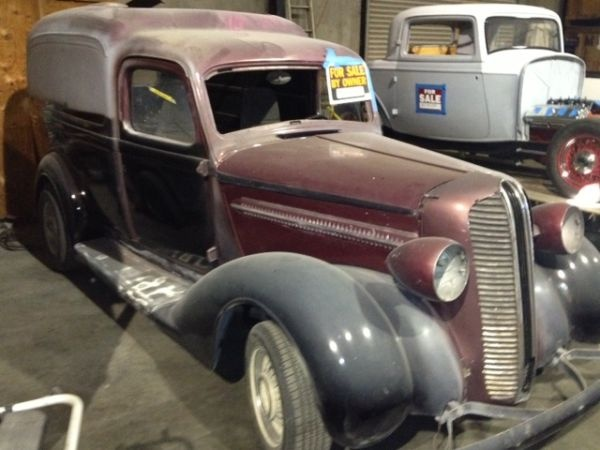 1937 Dodge Panel Humpback