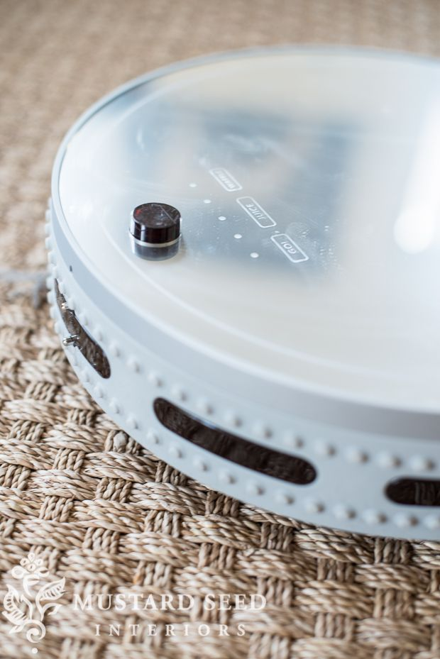 bObi robotic vacuum review & giveaway - Miss Mustard Seed