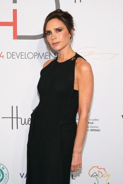 Victoria Beckham Photos - UNAIDS goodwill ambassador Victoria Beckham attends the Fashion 4 Development's 5th annual Official First Ladies luncheon at The Pierre Hotel on September 28, 2015 in New York City. - Fashion 4 Development's 5th Annual Official First Ladies Luncheon