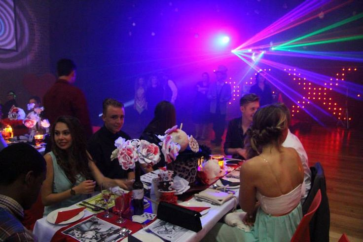 """Themed """"Alice in Wonderland"""" the Grade 10 Dance this year proved to be simply out of this world. Donned with black, red and white decor and props, the theatre looked amazing. The evening turned out to be quite enjoyable for our grade 10 pupils."""