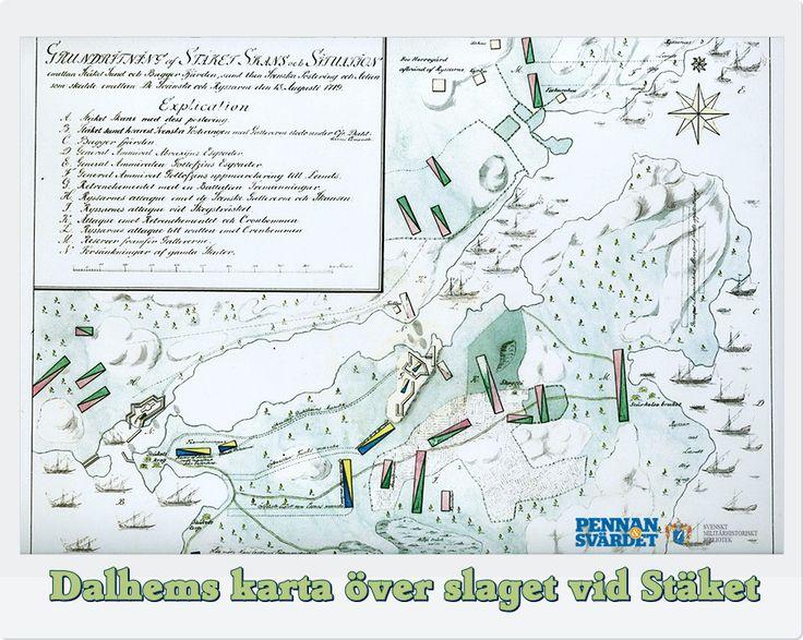 """Man kan läsa om hur ca 400 tremänningar dåtidens hemvärnssoldater under fortifikationsöversten Baltzar von Dahlheims befäl befäste Baggensstäkets inlopp om ryssarna skulle göra försök att nå Stockholm via gamla """"Södra farleden"""". Knapens hål fixades med fartyg sänkta med sten som bildade mur ovanför vattnet. I Skogsö, Södermanland uppfördes timmerskansar. Stäkesund försågs med försänkningar samt  jordskans  i förbindelse till försänkningarna på Gammeludden, Uppland bestyckad med…"""