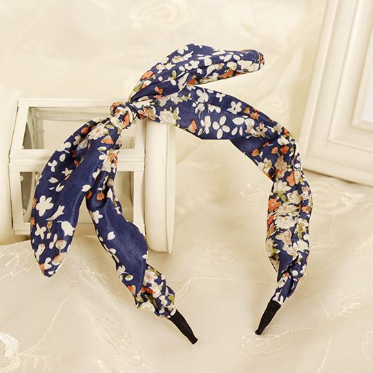 New Arrival Butterfly Bow Flower Hair Garland Lovely Rabbit Ear Headband for Headwear Women Hair Accessories