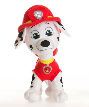 Love this PAW Patrol Marshall Cuddle Pillow on #zulily! #zulilyfinds