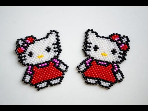 DIY Beaded Minion Charm ¦ The Corner of Craft - YouTube
