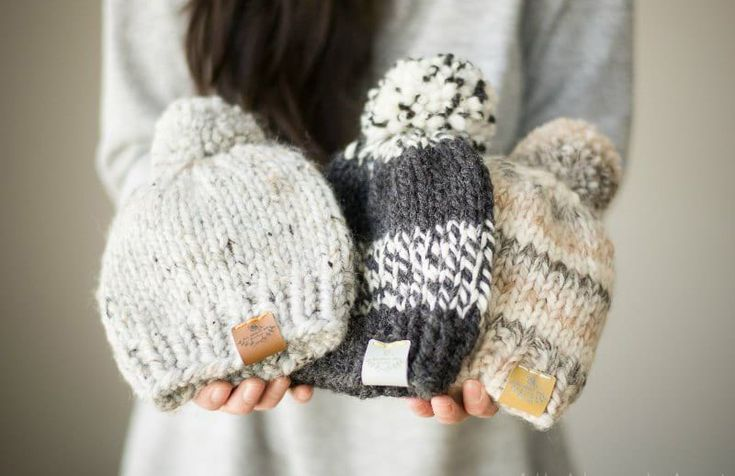 16 Free Knit Hat Patterns on Circular Needles | Baby hats ...