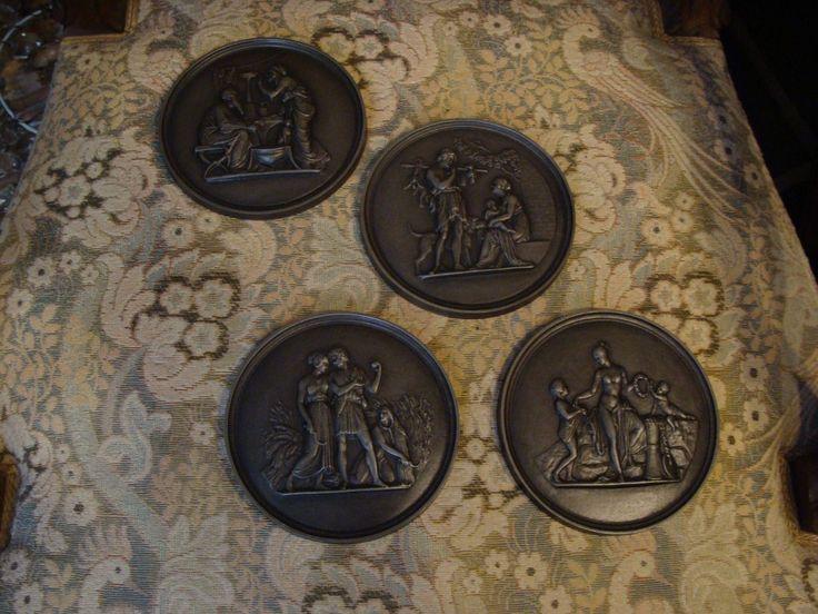 Vier Relief Thorvaldsen 1836 Klassizismus Plakette Gusseisen Historismus Buderus | Antiquitäten & Kunst, Kunst, Plastiken & Skulpturen | eBay!