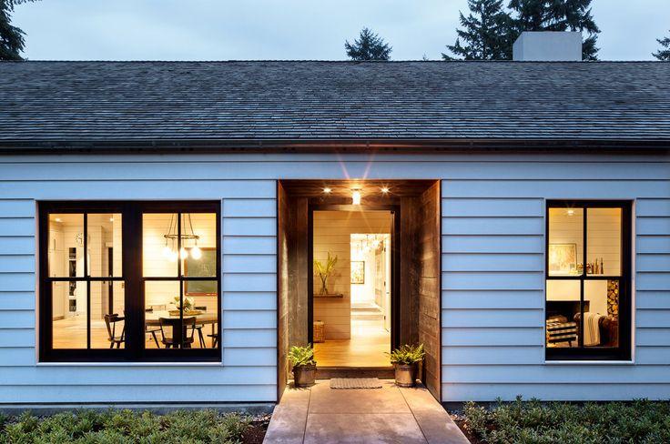 【面白さが随所に】ミッドセンチュリーのアレ風住宅   住宅デザイン