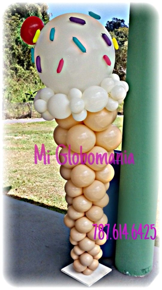 1000 images about globos candyland on pinterest for Balloon decoration machine