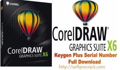 CorelDraw Graphics Suite X6 Crack Keygen + Serial Number Free Download
