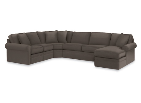 La-Z-Boy Collins Sectional Sleeper Sofa.     A sleeper AND a sectional? Someday this will be in a playroom/ rec room/ den.