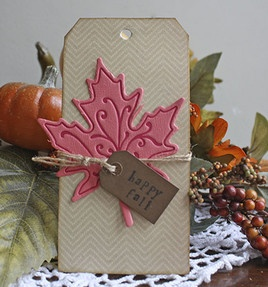Happy Fall :) #papercraft #Fiskars: Scrapbook Cards, Fall Projects, Fall Tags, Fall Halloween, Cards Inspiration, Paper Crafts, Diy Projects, Happy Fall, Fall Papercraft