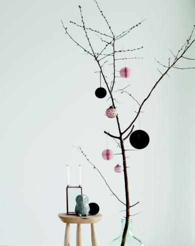 House Doctor - Ornament, paper art - mint