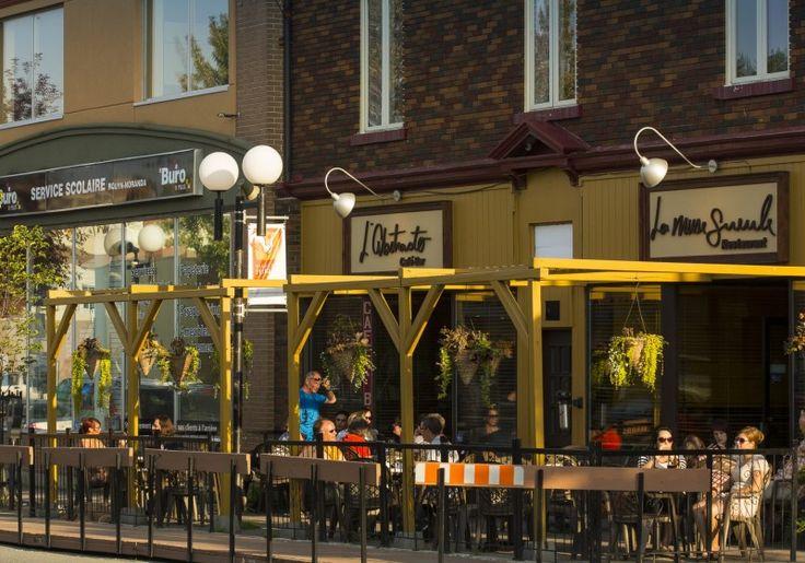 Café-Bar L'Abstracto | Maison de torréfaction | Tourisme Rouyn-Noranda \ Café équitable \ Bières de microbrasserie \ Photo: Mathieu Dupuis