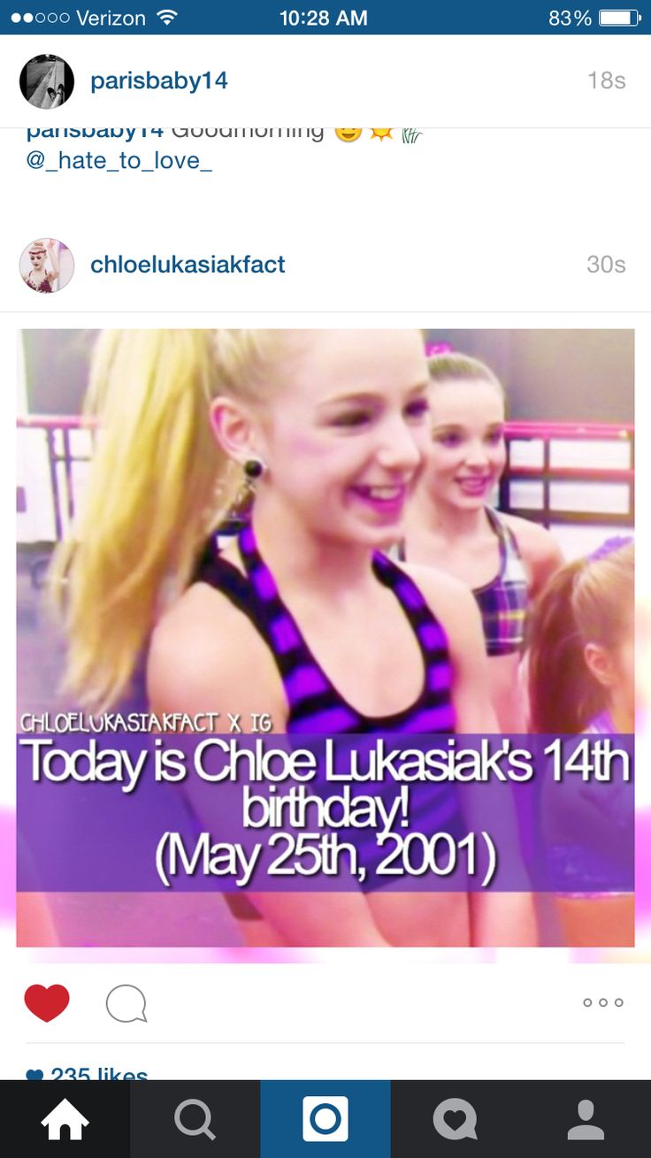 OMG just saw this on Instagram!! HAPPY BIRTHDAY CHLOE!!