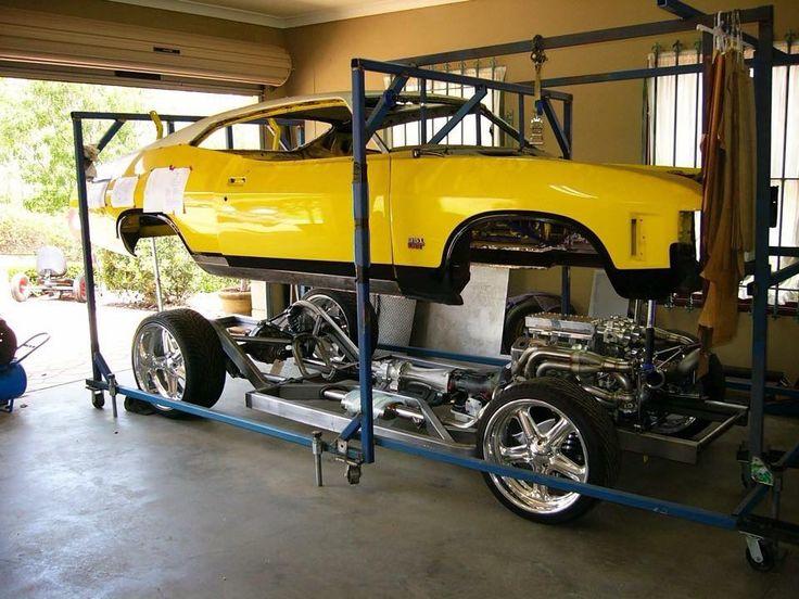 ◆ Visit MACHINE Shop Café... ◆ ~ Aussie Custom Cars & Bikes ~ (1972 XA Ford Fastback Build-up)