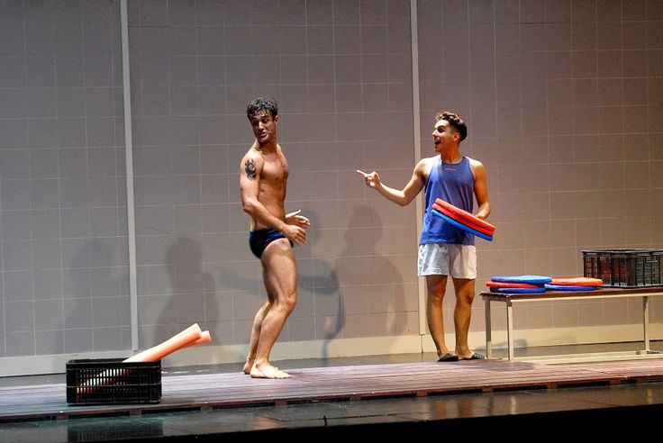 ARGENTINEMEN: ESTEBAN MELONI - HOTTER THAN EVER IN THE PLAY EL PRINCIPIO DE ARQUIMEDES