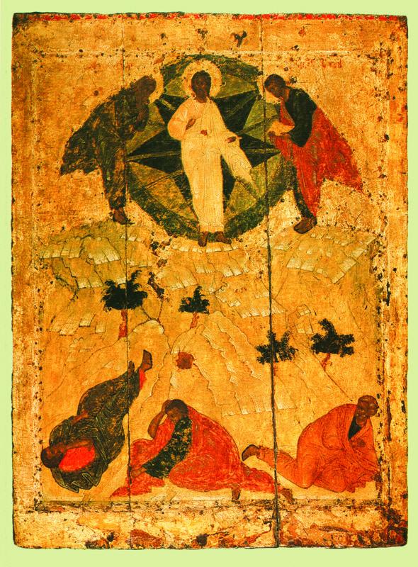 1405 г.   ПРЕОБРАЖЕНИЕ.  Икона празднмчного чина иконостаса
