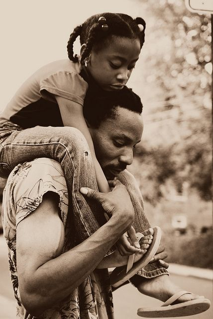 Image result for black Daddy and child moments
