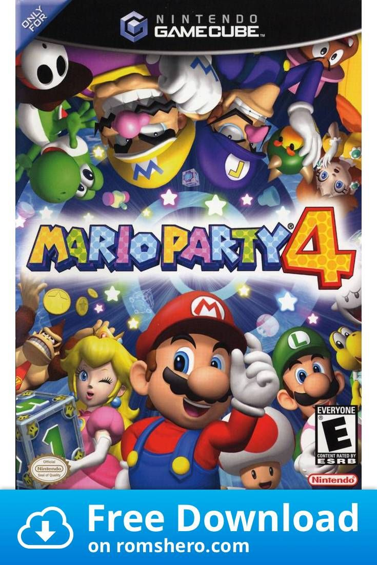 Download Mario Party 4 Gamecube Rom With Images Mario Party