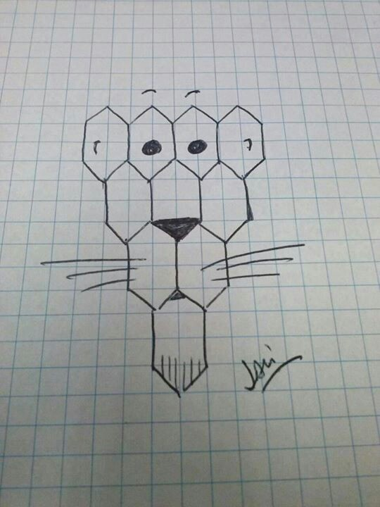 27 best images about dibujos cuadriculados on pinterest for Papel para dibujar