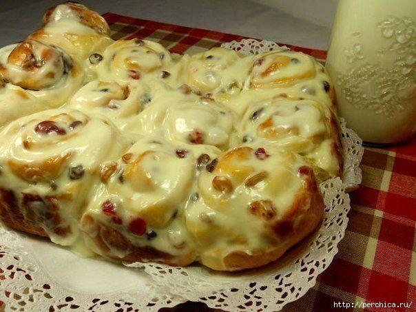 Мобильный LiveInternet Обалденно вкусные булочки с изюмом со сливочной заливкой   Ирина_Зелёная - Всё самое модное, интересное и вкусное вы найдёте у perchica   