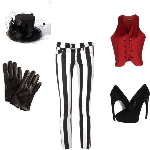 """Ring Master Halloween"" by riley-jo-justesen on Polyvore"