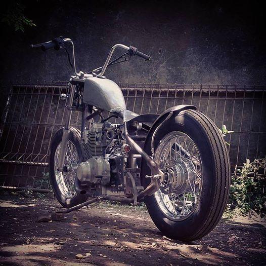 Suzuki GS500 # Chopper # Oldschool # Handmade # builtnotbought # custom_by Victorious Custom Works