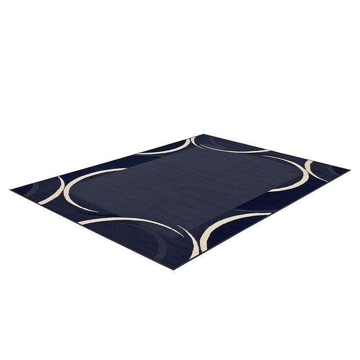 Teppich Prime Pile Circular - Blau - 190 x 280 cm, Hanse Home Collection