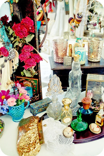 Lovely perfume bottle collection...