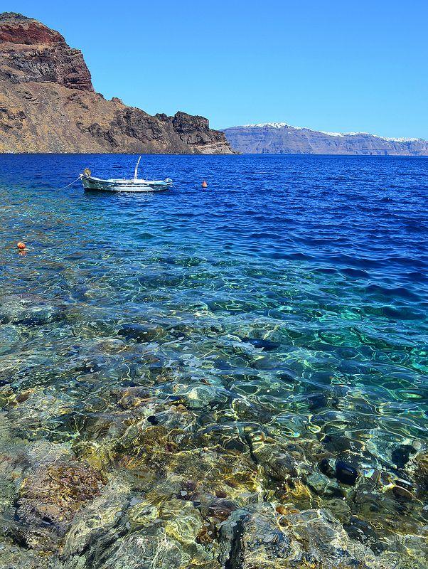 Therasia, near Santorini, Greece.  50 things not to miss