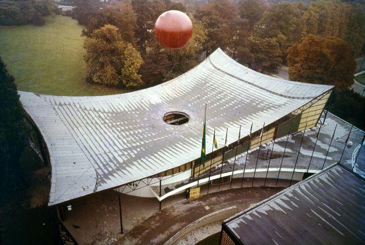 Clássicos da Arquitetura: Pavilhão de Bruxelas 1958,via Bernardes Arquitetura