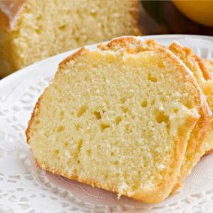 Easy Pound Cake Made With Walnuts