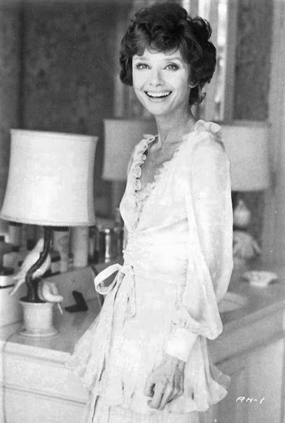 Signora Audrey Hepburn Dotti photographed by Elisabetta Catalano at her apartment in Rome (Italy), in the Parioli area (on Via di San Valentino), in March 1976.