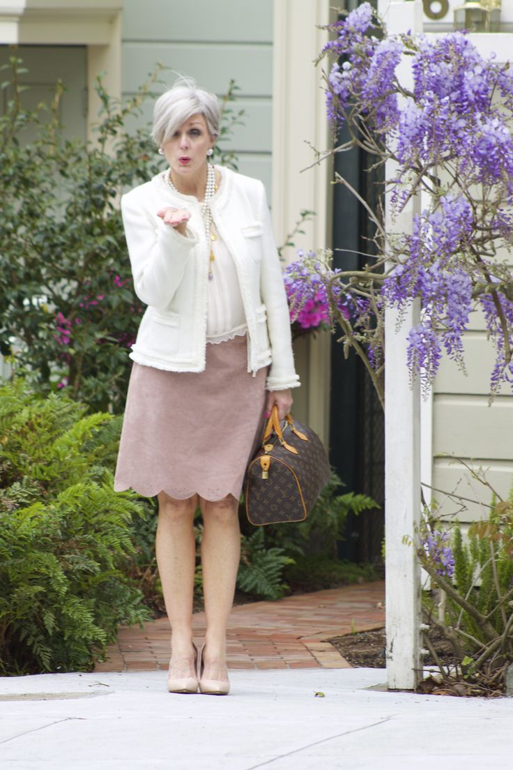 Garden Party Spring Inspiration Style At A Certain Age