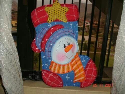 Bota navideña en foami | botas navidad | Pinterest