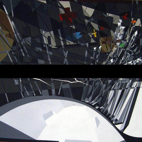 Acrílica em papel Canson Preto e branco: www.antoniodecampos.com
