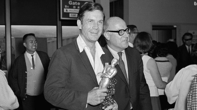"""Cliff Robertson's portrayal of a mentally challenged man in the drama """"Charly"""" was enough to bowl over competition such as Peter O'Toole and..."""
