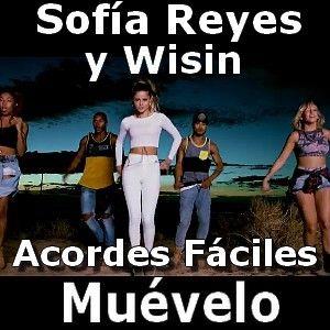 Sofia Reyes - Muevelo acordes ft. Wisin (facil)