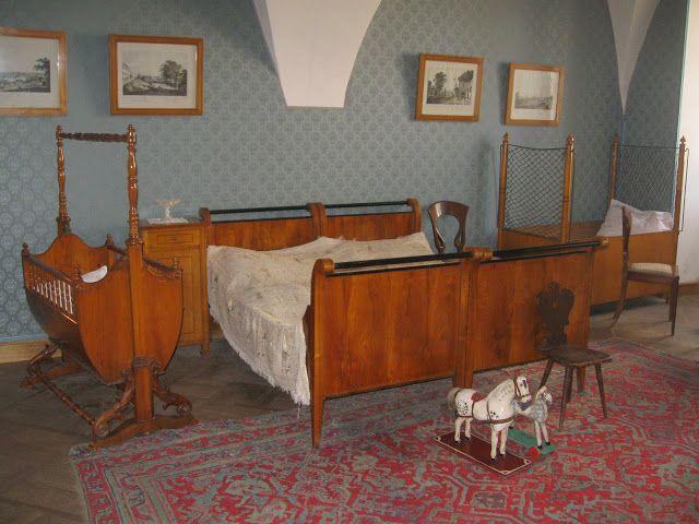 Litomyšl, v této ložnici přišel Bedřich Smetana na svět  ~ v 10 hodin dopoledne, 2. března 1824