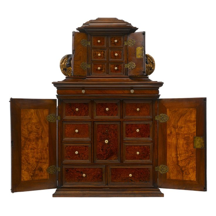 Baroque Table Cabinet, Probably Augsburg