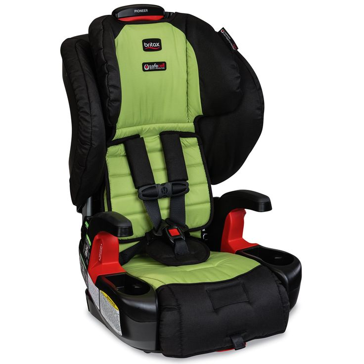 Britax Pioneer G1.1 Harness-2-Booster Car Seat - Kiwi