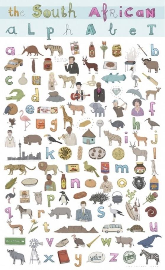 VISI / the south african alphabet, emily gravett