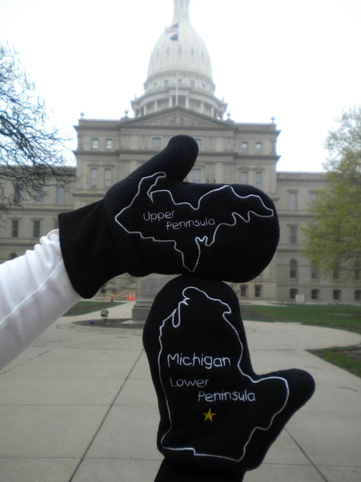 Michigan State Capitol, Lansing, MI - I want these!!! Except I will never be able to wear them living in Florida.....