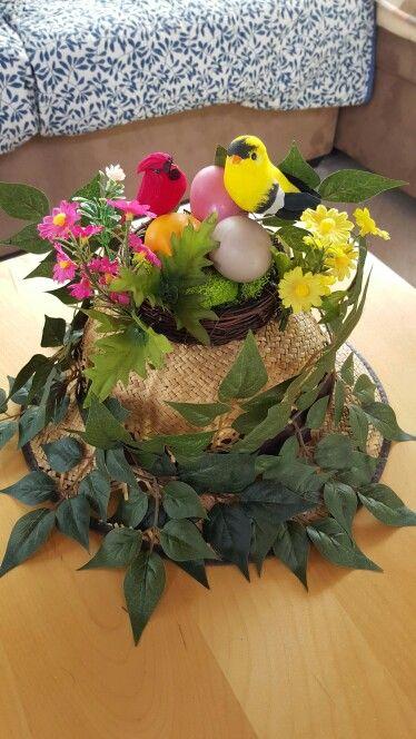 Crazy hat day - bird's nest